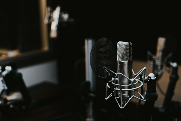 Image of podcast microphone